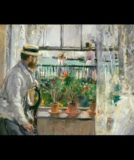 Berthe Morisot, Eugène Manet à l'île de Wight, 1875,, musée Marmottan Monet © Musée Marmottan Monet, Paris / The Bridgeman Art Library