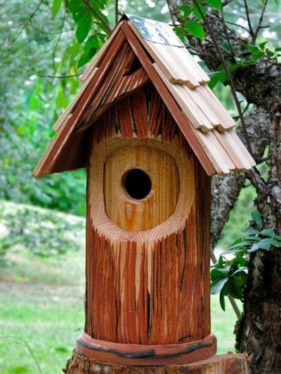 Woodcutter Birdhouse
