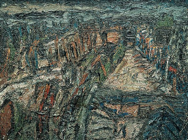 Leon KOSSOFF | Dalston Junction with Ridley Road street market, Friday evening, November, 1972