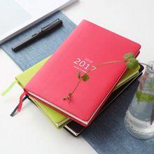 2016 2017 творческих тенденции повестки дня sketchbook a5 ежедневно заметок дневник 18 моли календарь notebook планировщик расписания для персональный подарок(China (Mainland))