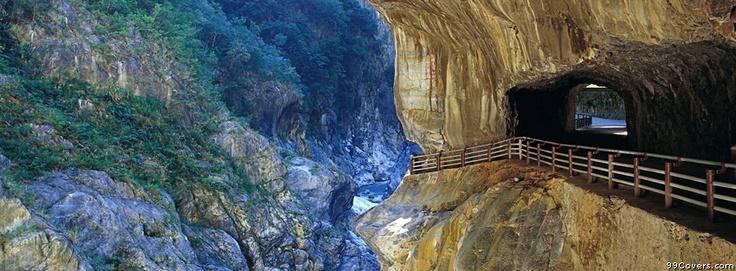 Tunnel Of Nine Turns In Taroko Gorge