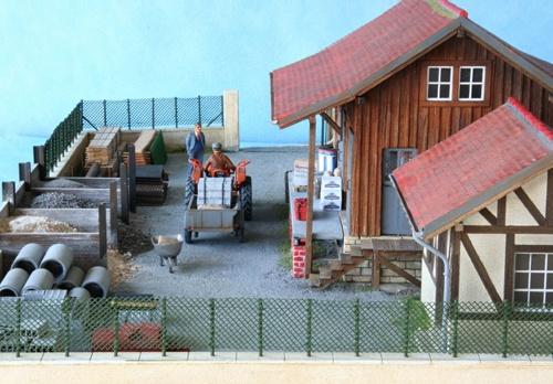 Diorama Le marchand de matériaux avec plans http://www.gilbert-gribi.ch/GGribi/pdf/Materiaux.pdf)