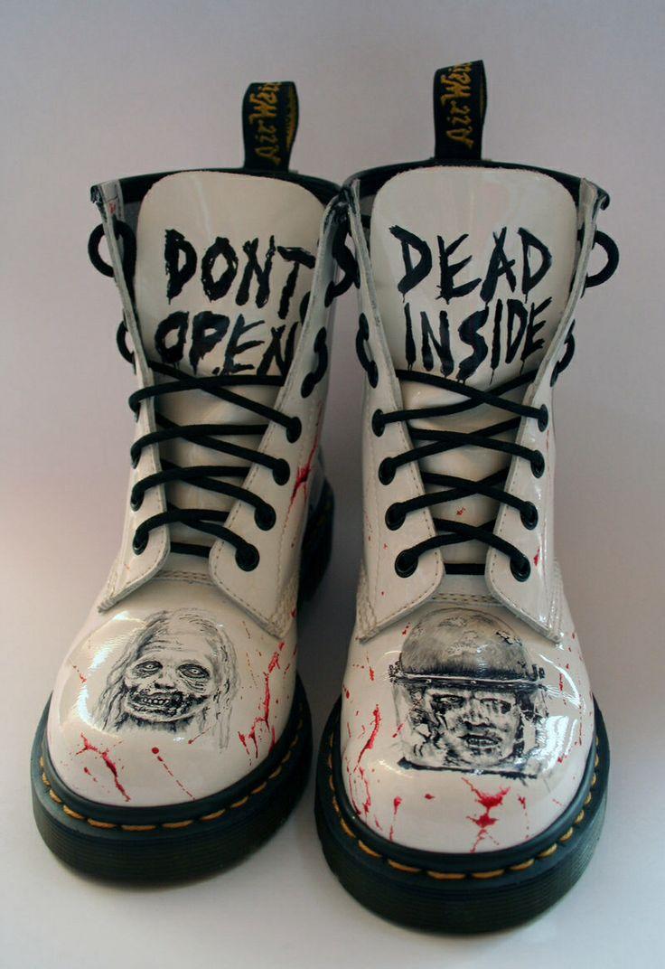 The walking dead shoes.