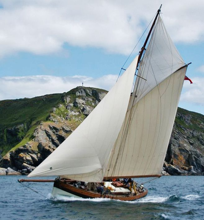 Click to enlarge image of Bristol Channel 38 ft Pilot Cutter Replica 2011 boat f…