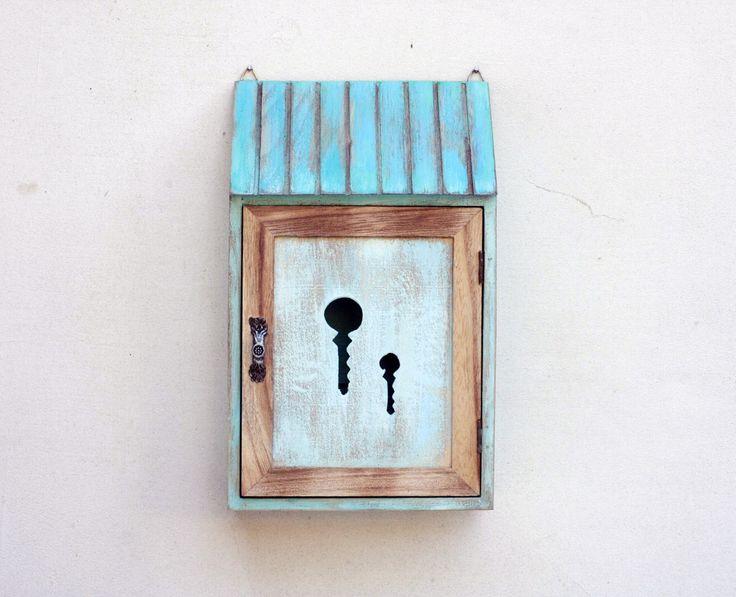 Wooden Key Box Holder wardrobe Key Cabinet Key Storage Box Key Chain Box Key Holder Box & Best 25+ Key storage ideas on Pinterest | Wooden key holder Diy ... Aboutintivar.Com