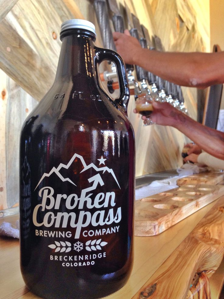 Broken Compass Brewing in Breckenridge Colorado
