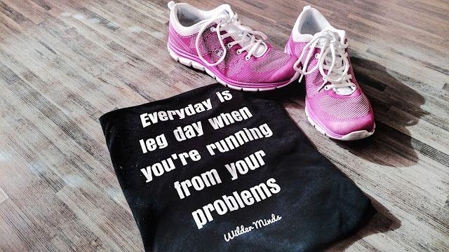 Everyday is leg day when you're running from your Problems! Kommt mit auf unsere Freeletics Coach Reise zum Healthy Lifestlye
