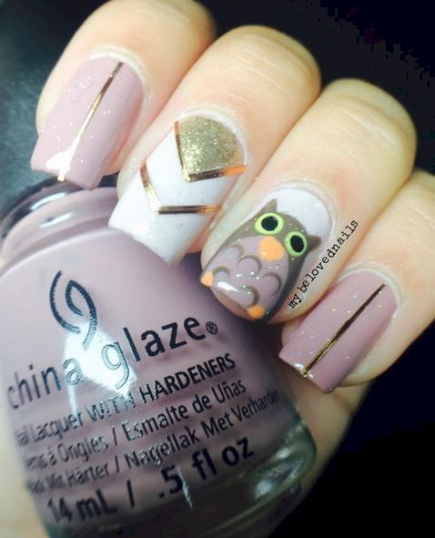 12 Owl Nail Designs That Are A Hoot