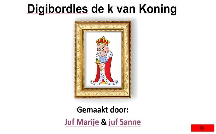 Digibordles de k van Koning | Juf Marije en Juf Sanne