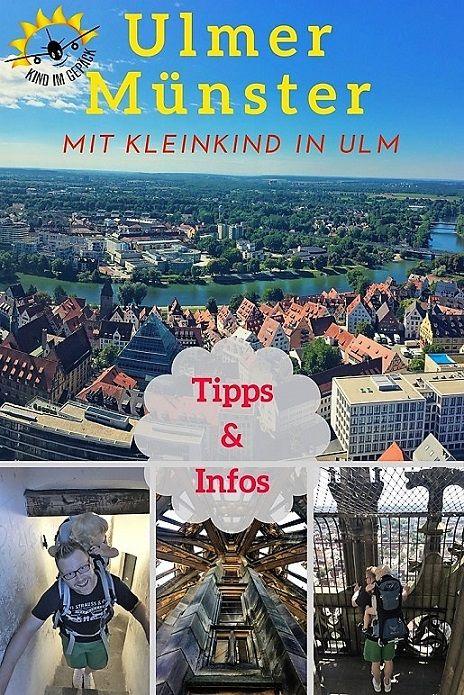 Das Ulmer Münster, der höchste Kirchturm der Welt. Die 768 Stufen nach oben sind auch mit Kleinkind zu bezwingen. Tipps & Informationen zu einem Aufenthalt in Ulm.
