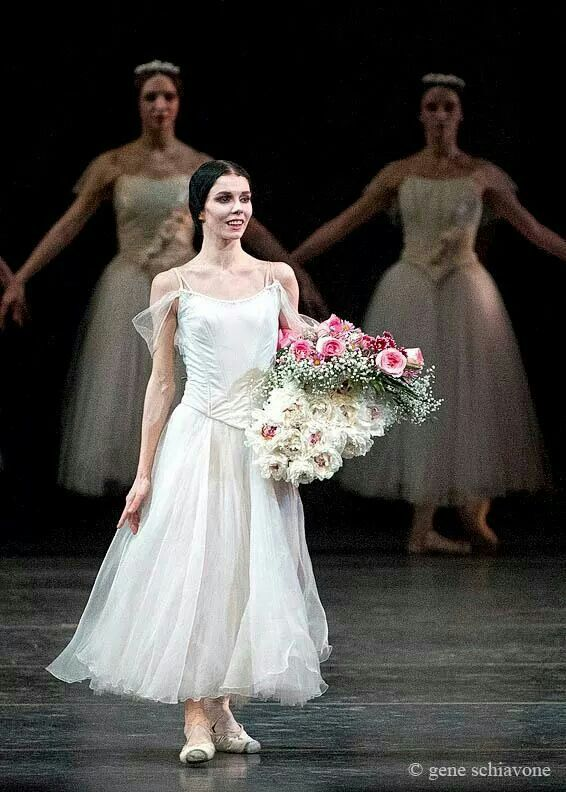 Curtain call Giselle