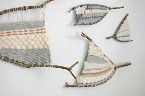weaving in forked branches