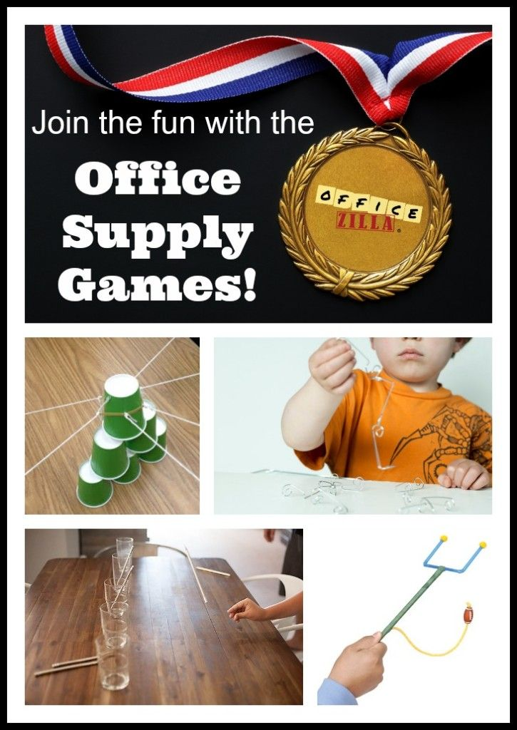 Office Games to Play - Workspirited
