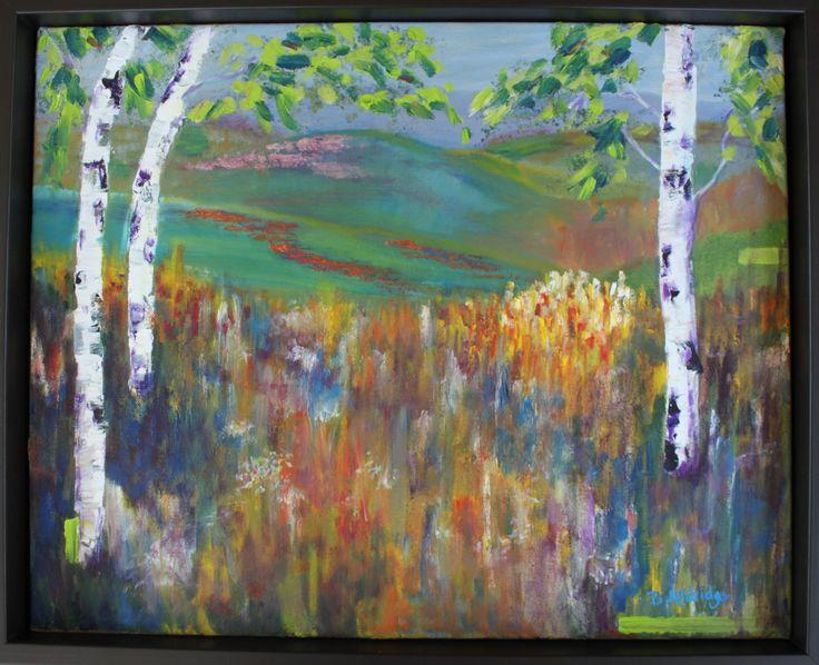 Summer Meadow by BevAlldridgeArt on Etsy