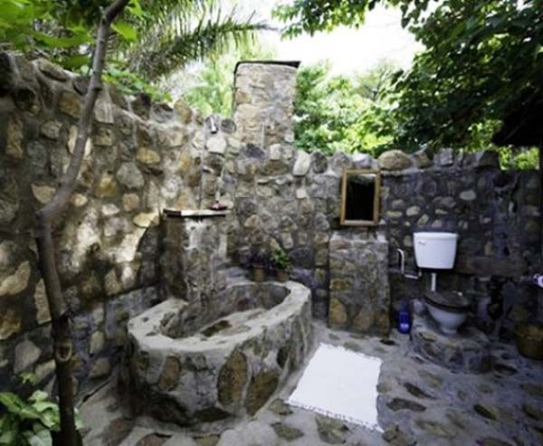 Outdoor Bathroom 7 best baño outdor images on pinterest | outdoor bathrooms