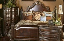 Hemispheres Furniture Store Grand European Estate Bedroom