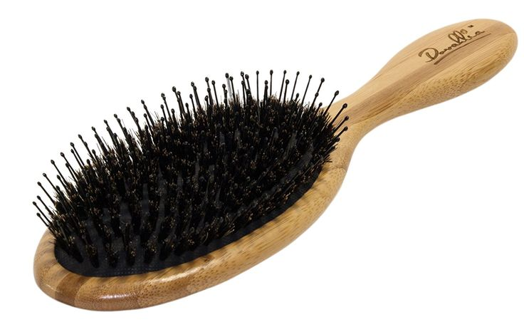 Boar Bristle Hair Brush Set - Eco-Friendly Bamboo Handle - Best for Medium to Thick Hair - Designed for Women and Men - Wood Comb - Traveling Bag Included - Best Gift * You can find more details by visiting the image link.