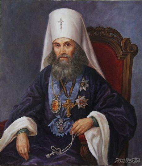 Гайдук Ирина - Портрет святителя Филарета - митрополита Московского
