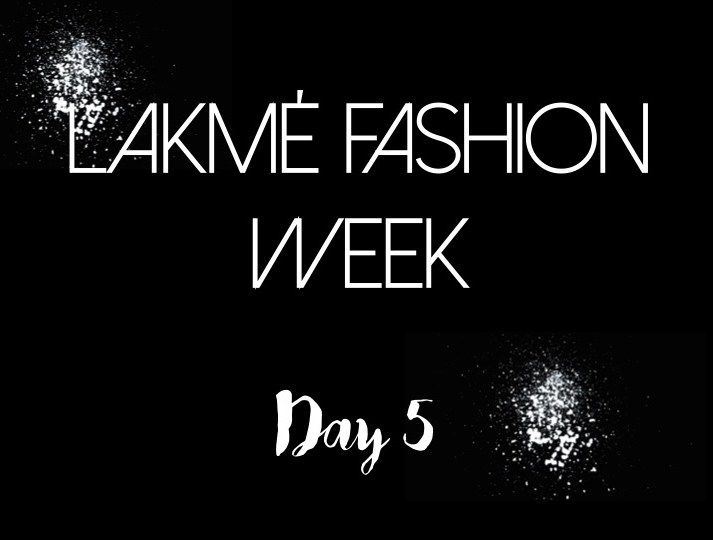【Lakmé Fashion Week | Day5】The last day of Lakmé Fashion Week is always grand, if not a magnificent finale. While a certain sadness hung in the air, the last day of Lakmé Fashion Week Summer/Resort 2016 still had a lot to look forward to. A lot of eyeball snack for the fashion hungry. Day 5 had a mega finish in store for us with Rohit Bal's show bringing a conclusion to fashion week, and we must say it was everything it was made out to be and more.  Reporting from the buzzing grounds of…