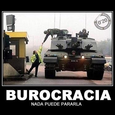 Nada puede parar la burocracia ¡Ni siquiera un carro de combate! #airsoft