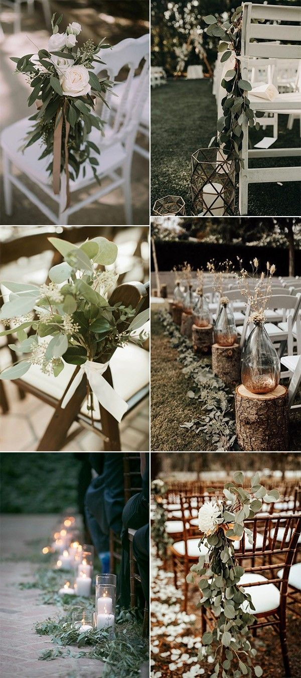 32 Inspirational Outdoor Wedding Aisle Decoration Ideas – Page 2 of 2