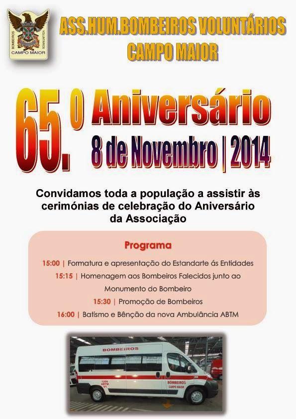 Campomaiornews: Bombeiros de Campo Maior comemoram 65º aniversário...