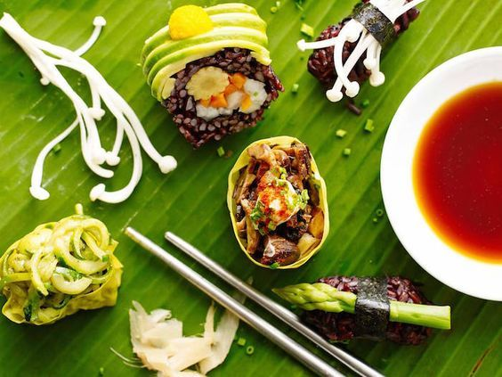 The 10 'Most Under-rated' Vegan Restaurants in Sydney (image from Superfood Sushi)