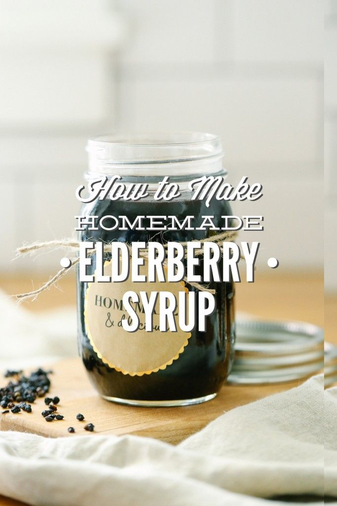 How to make the BEST homemade elderberry syrup. Plus, this recipe saves so much…