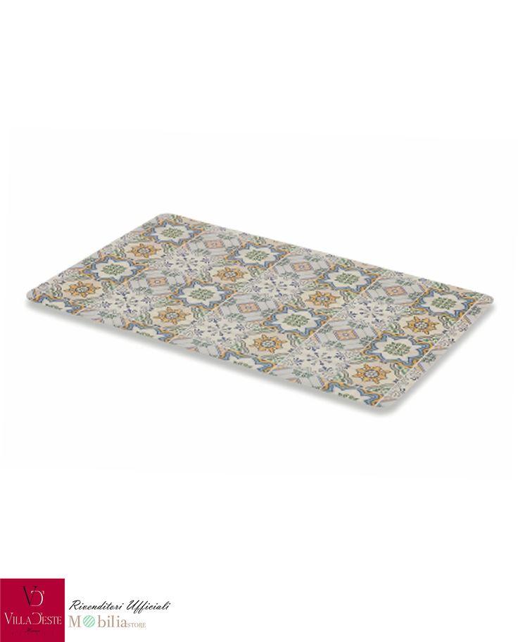 Set 6 Tovagliette Plastificate Decorate Azul, oltre a decorare e colorare la tua tavola, ne proteggono la superficie. Promo su Mobilia Store.