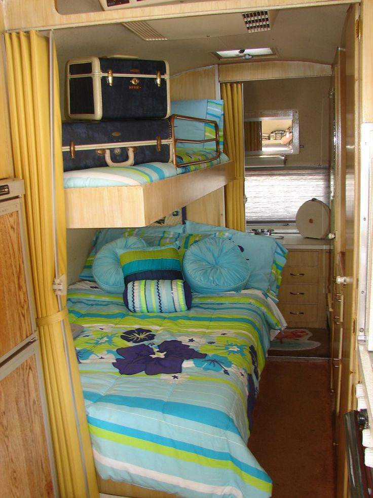 Luxury  Camper Modification On Pinterest  Campers Extensions And Double Bunk