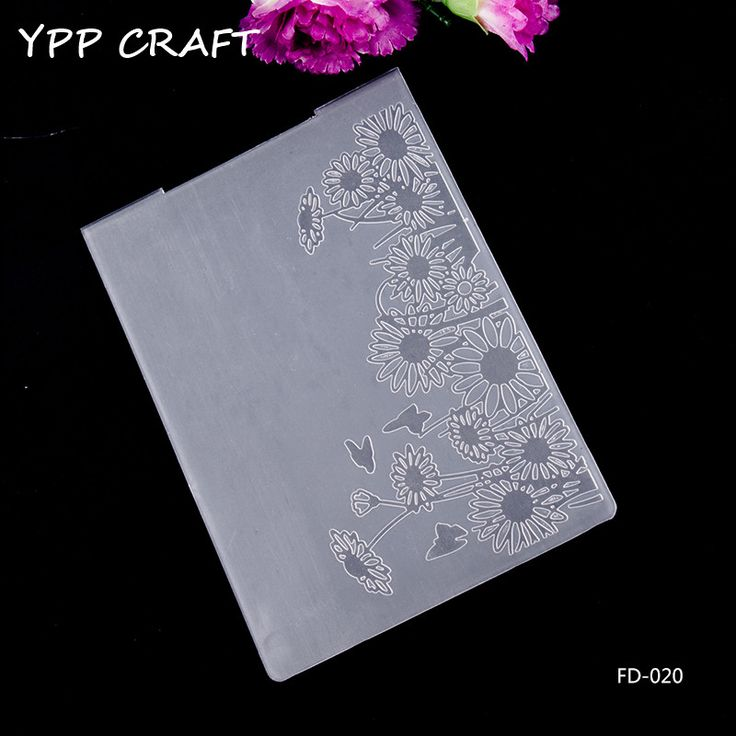Cheap folder for papers, Buy Quality folder embossing directly from China folder plastic Suppliers: YPP CRAFT Sunflower Plastic Embossing Folders for DIY Scrapbooking Paper Craft/Card Making Decoration Supplies