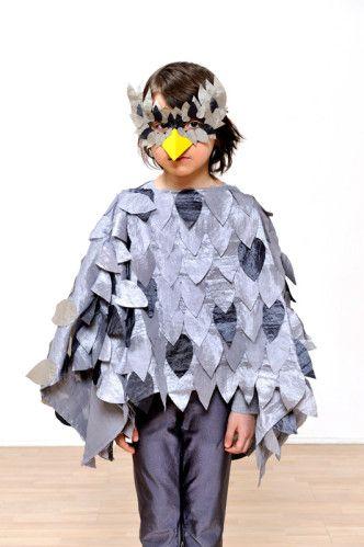 Diy : déguisement de hibou