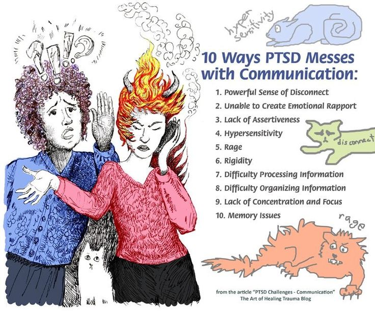10 Ways PTSD Messes with Communication