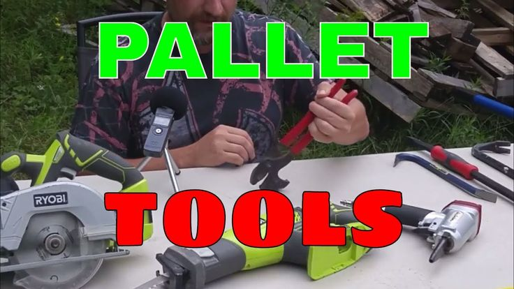 Recommended Pallet Tool List Tonight, I'm going to show you what tools make up my pallet dismantling arsenal. Enjoy! Subscribe to the channel: https://goo.gl...
