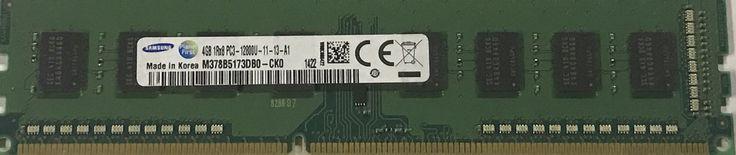 Used Samsung 4GB 1RX8 PC3-12800U DDR3 Desktop Memory