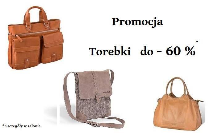 GRUDZIEŃ - Promocja torebki do -60 % Salon Valentini /Samsonite