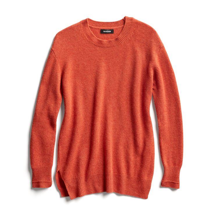 Stitch Fix Fall Stylist Picks: Pumpkin crewneck sweater