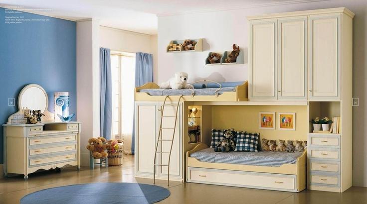 Netradičně řešená palanda do dětského pokoje od Ferretti & Ferretti. Více na: http://www.saloncardinal.com/galerie-ferretti-ferretti-aae