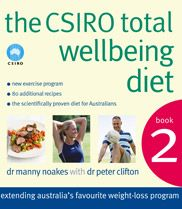 Cover of the Total Wellbeing Diet Book 2.