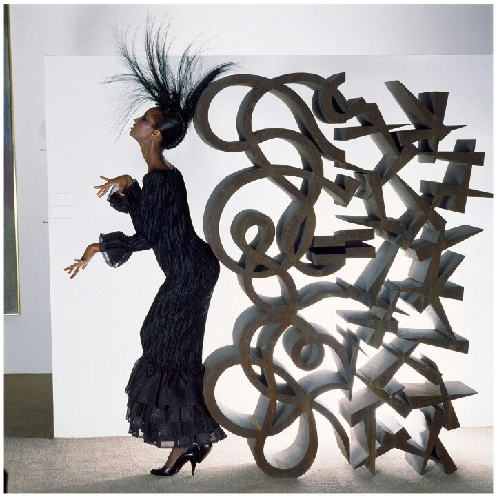 Iman photographed by the great Norman Parkinson