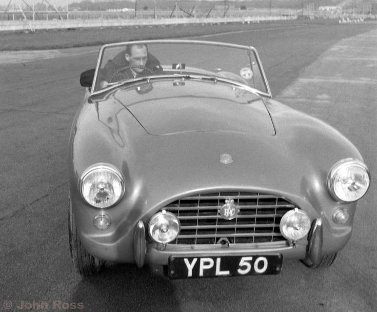 The John Ross Motor Racing Archive - RC 548 - Stirling Moss tests the AC Ace - February 1957