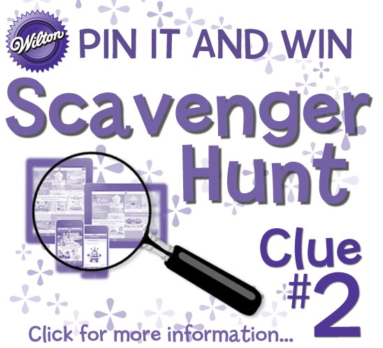 Easy treat making is always at your fingertips with the Wilton iPad and iPhone app. Click here for Scavenger Hunt clue #2: http://www.wilton.com/contests/scavenger-hunt/index.cfm  #wiltoncontest