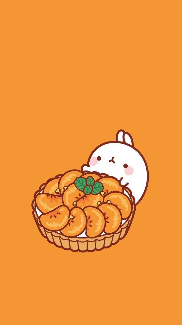 Pin By Emma On Fondo Kawaii Molang Wallpaper Cute Kawaii Drawings Kawaii Wallpaper Chibi anime food wallpaper