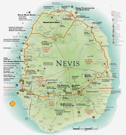 Nevis, West Indies...