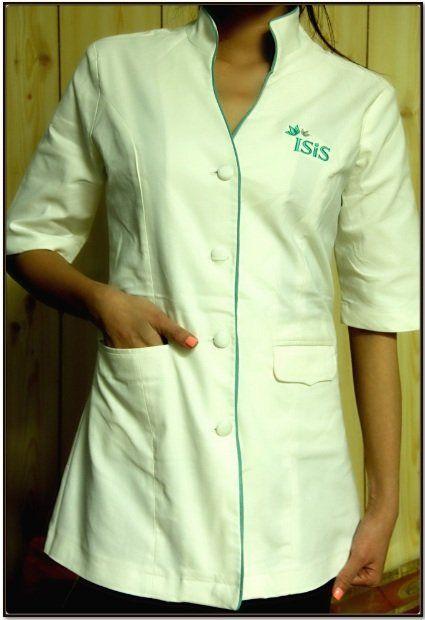 Custom spa beauty nail technician hair dressing for Spa uniform buy