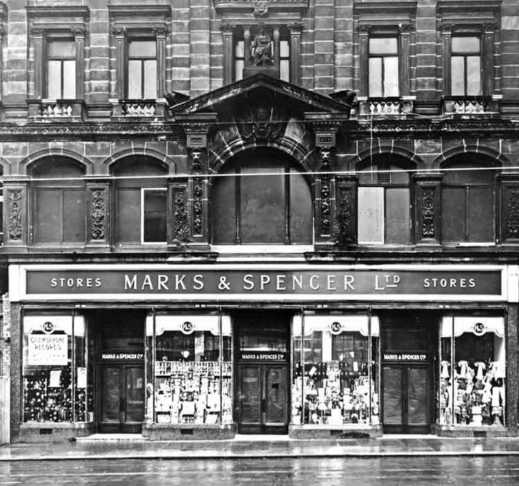 Marks and Spencer, Church Street, Liverpool, 1928
