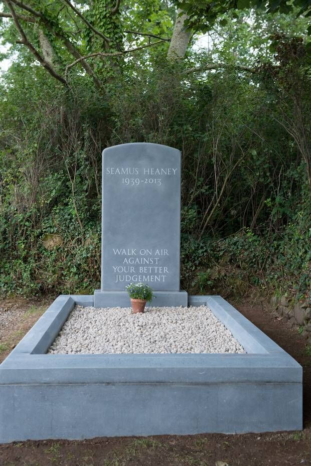 Seamus Heaney's tombstone - Google Search
