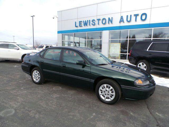 2002 Chevrolet Impala, 124,379 miles, $4,450.