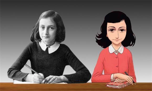 A banda desenhada de O Diário de Anne Frank