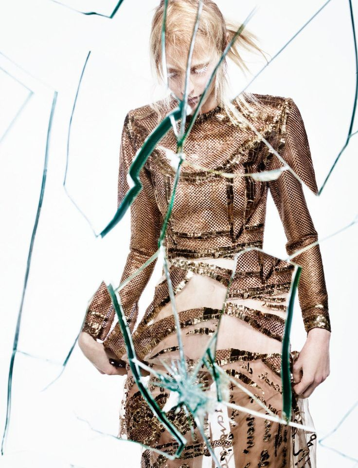 visual optimism; fashion editorials, shows, campaigns & more!: broken down: julia nobis by craig mcdean for interview april 2015